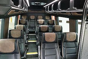 Mercedes Sprinter Executive Van Interior