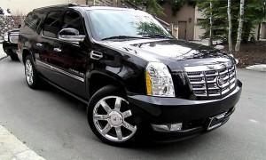 Cadillac Escalade ESV exterior