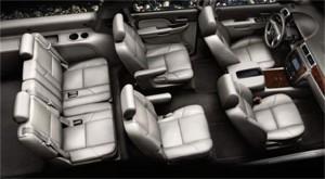 Z71 Chevrolet Suburban interior