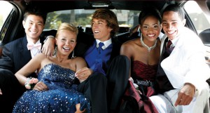 limo for the prom