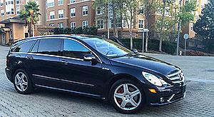 Mercedes R63 exterior