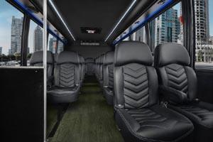 24 Passenger Mini Bus Interior