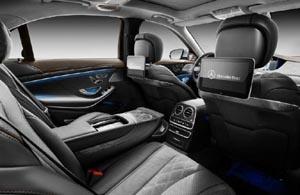 Mercedes S560 interior