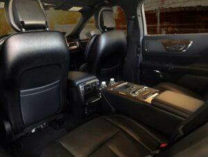 Lincoln Continental Black Label interior